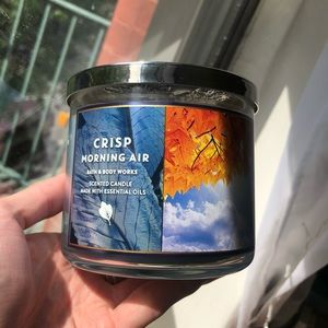 Crisp Morning Air Bath and Body Works Candle